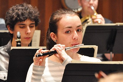 Piccoloist Cooper Reed is among the 60-plus members of the Greater Victoria Youth Orchestra who will be performing at its 30th anniversary celebration concert on Sunday, May 1 at Farquhar Auditorium.