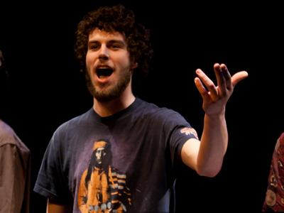 Vancouver's Johnny MacRae performs as part of the ensemble of last year's Victoria Spoken Word Festival (Feb. 21-26). MacRae is part of the ensemble again this year.