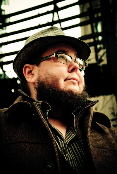 Spoken word performer Shane Koyczan is bringing his show When I Was a Kid to Victoria as part of the Belfry Theatre's Spark Festival.