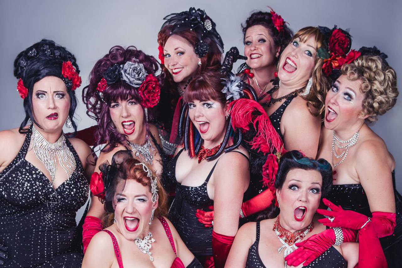The Cheesecake Burlesque group performs at the Belfry Theatre on May 26 in support of PEERS. (File contributed)