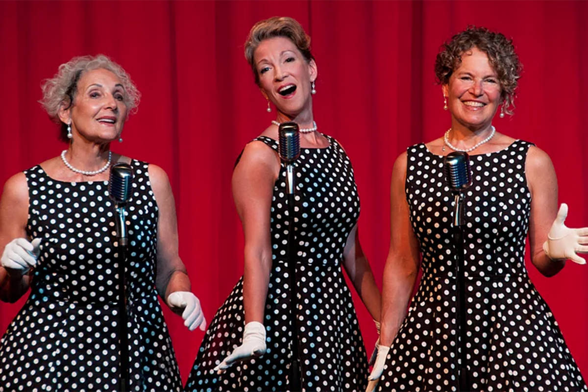 The Millies, here in event-appropriate garb, perform at the Vintage Fair in Victoria this month at the Crsystal Garden. themillies.ca