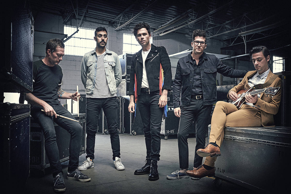 Arkells return to Victoria for a Feb. 3 concert at Save-On-Foods Memorial Centre, touring in support of their new album Rally Cry. Photo by Matt Barnes