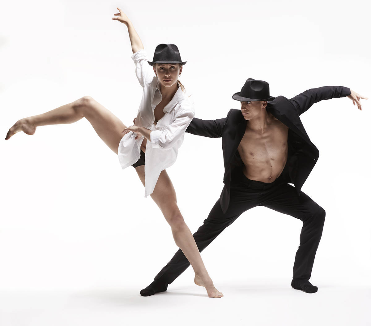 """Ballets de Jazz de Montreal blends the music of Leonard Cohen with beautiful choregraphy in """"Dance Me,"""" Nov. 16 and 17 at the Royal Theatre. Marc Montplaisir/Ballets de Jazz de Montreal"""