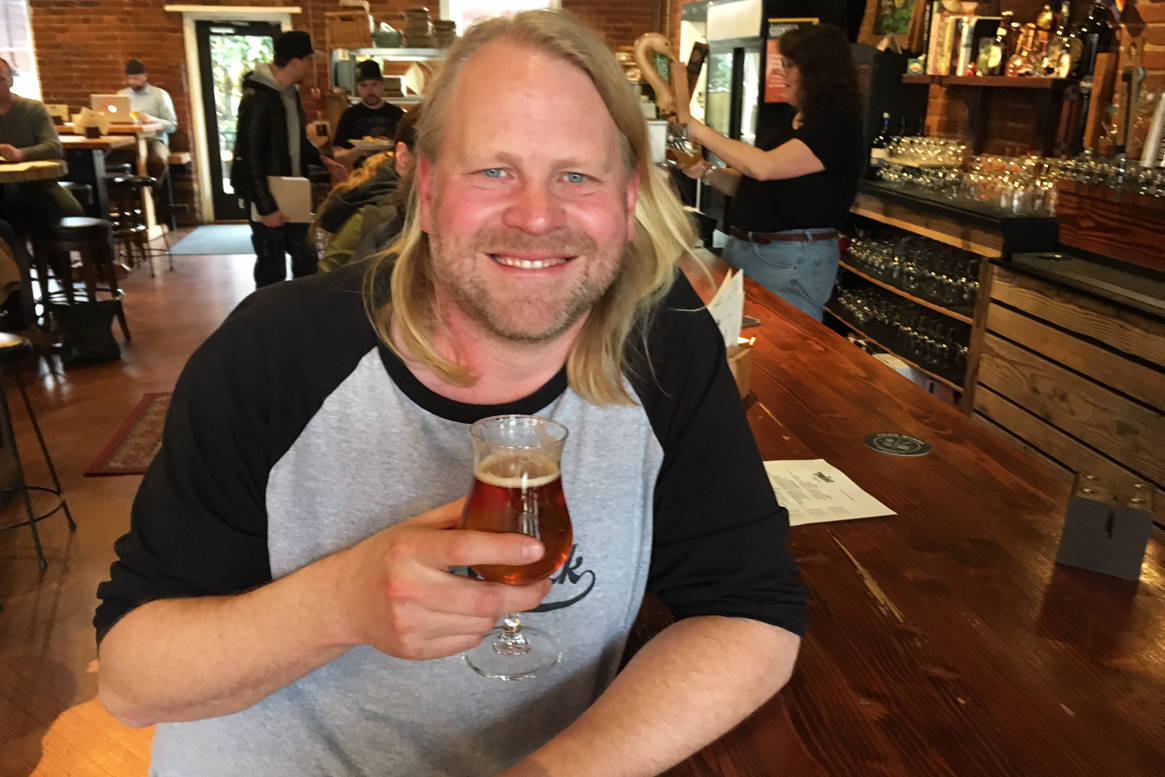 Joe Wiebe, producer of Victoria Beer Week, invites the public to help launch the 2019 event with a special gathering at Île Sauvage brewery tonight (Dec. 11). Tickets went on sale today for this popular celebration of B.C. craft beers. Kristyn Anthony/Black Press