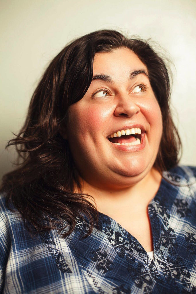 Comic Debra DiGiovanni is performing in the Snowed In Comedy Tour, which comes to the Royal Theatre on Jan. 12. (Photo courtesy Kim Newmoney)