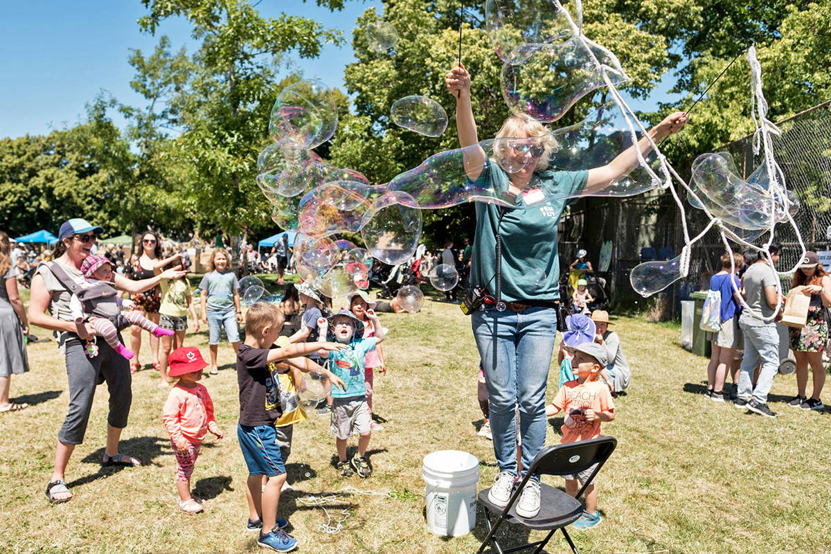 There's plenty of family friendly activities on Saturday during FernFest June 22. Photo contributed