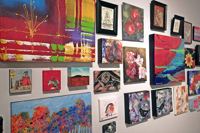 Art of all shapes and sizes will be on display and for sale at Art + Fare 5, set for Sept. 21 at the Union Club. The event is a fundraiser for the Art Gallery of Greater Victoria's family programs. File photo
