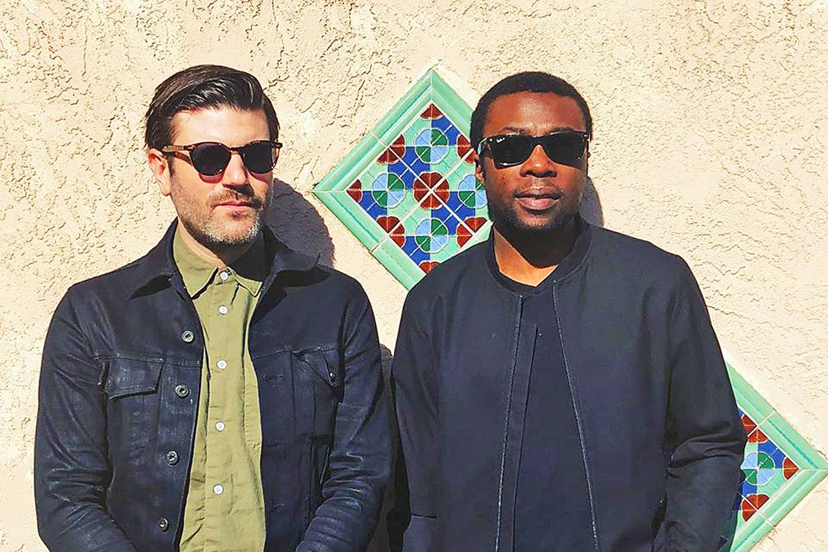 Jay Malinowski, left and Eon Sinclair, better known as Bedouin Soundclash, bring their live combo of past hits and newer material from their latest album, MASS, to the Capital Ballroom for a Feb. 7 show. Facebook