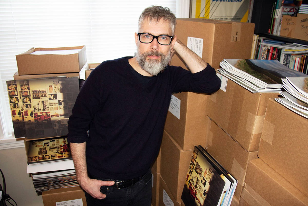 Victoria musician Rob Nesbitt recently released an album he started in 1995. Mine Would be the Sun is an examination of his first love. (Photo Courtesy of Wendy Nesbitt)