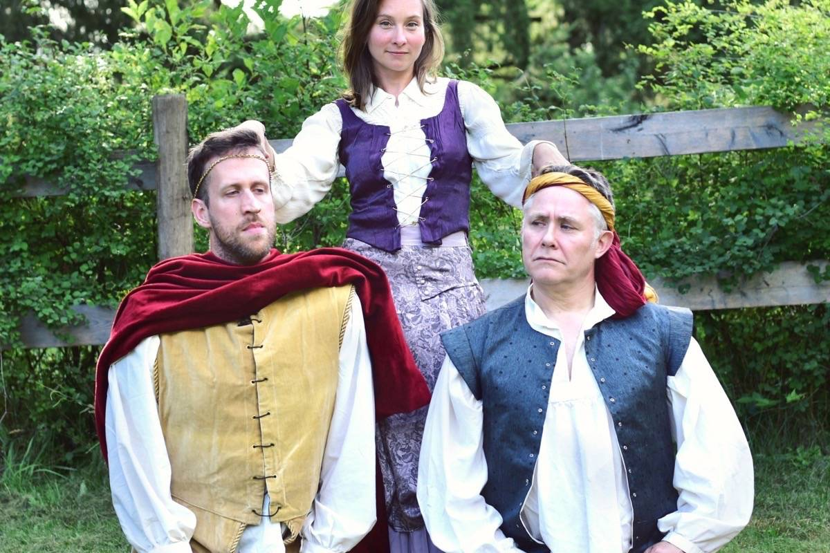 Director turns 'The Winter's Tale' into cliffhanger for 'pandemic edition' in Shawnigan