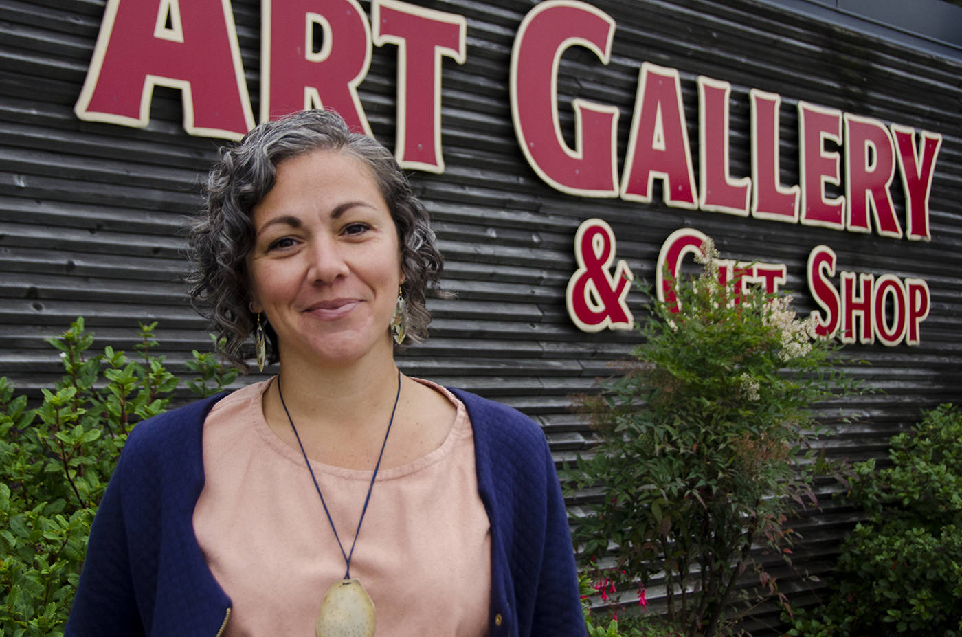 Sara Lopez Assu says she's relatively happy with how the Campbell River Art Gallery team managed to weather the storm that was 2020. File Photo by Mike Davies/Campbell River Mirror