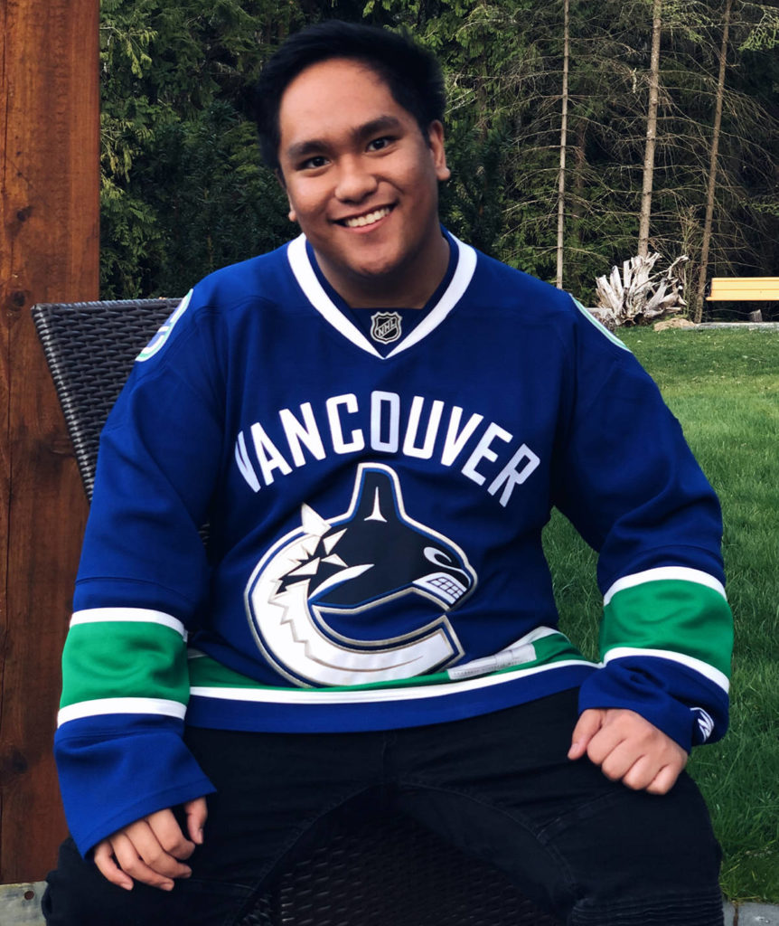 Lantzville singer Raymond Salgado is slated to sing 'O Canada' before the Vancouver Canucks' upcoming game against the Toronto Maple Leafs on April 17. (Photo submitted)